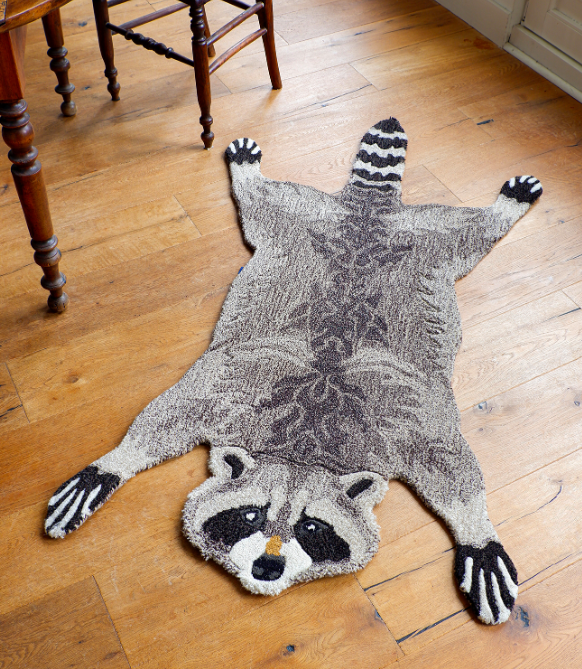 Rocky Racoon Fussmatte/Teppich large