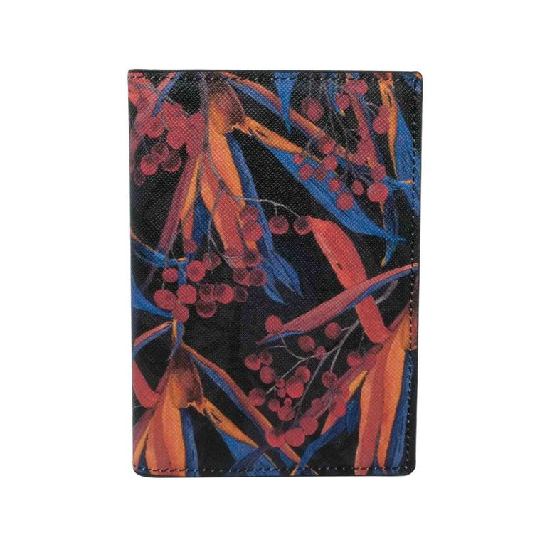 Passport Cover Lily Black