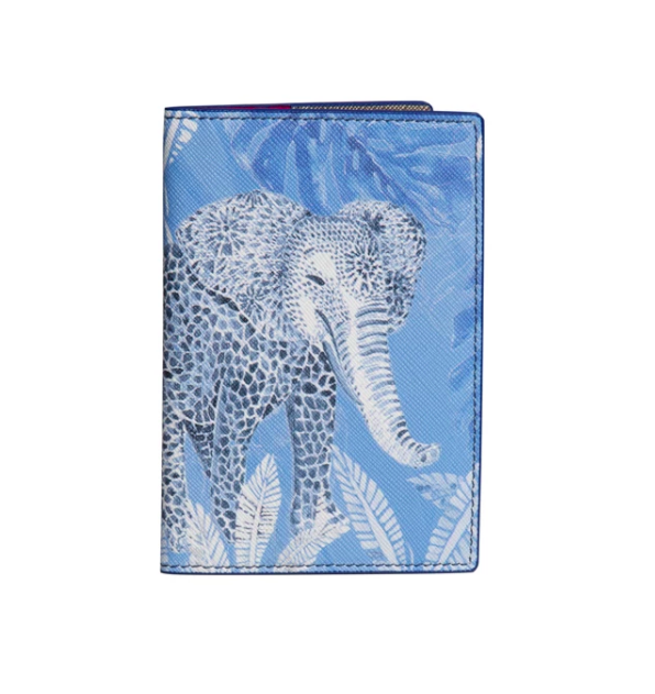 Passport Cover Elephant