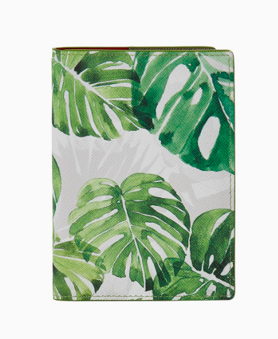 Passport Cover Monstera