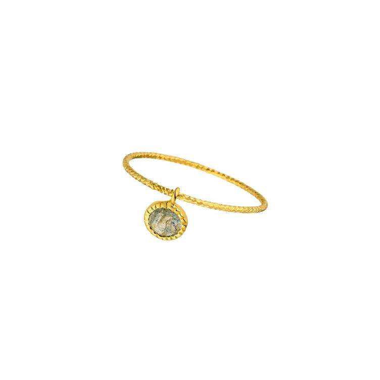 Ring gold Sweet Drop mit Labradorit