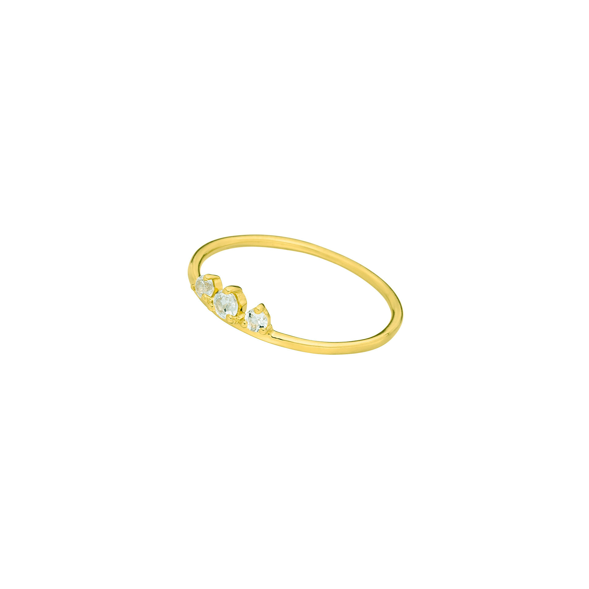 Ring gold Sweet Gems mit Bergkristall