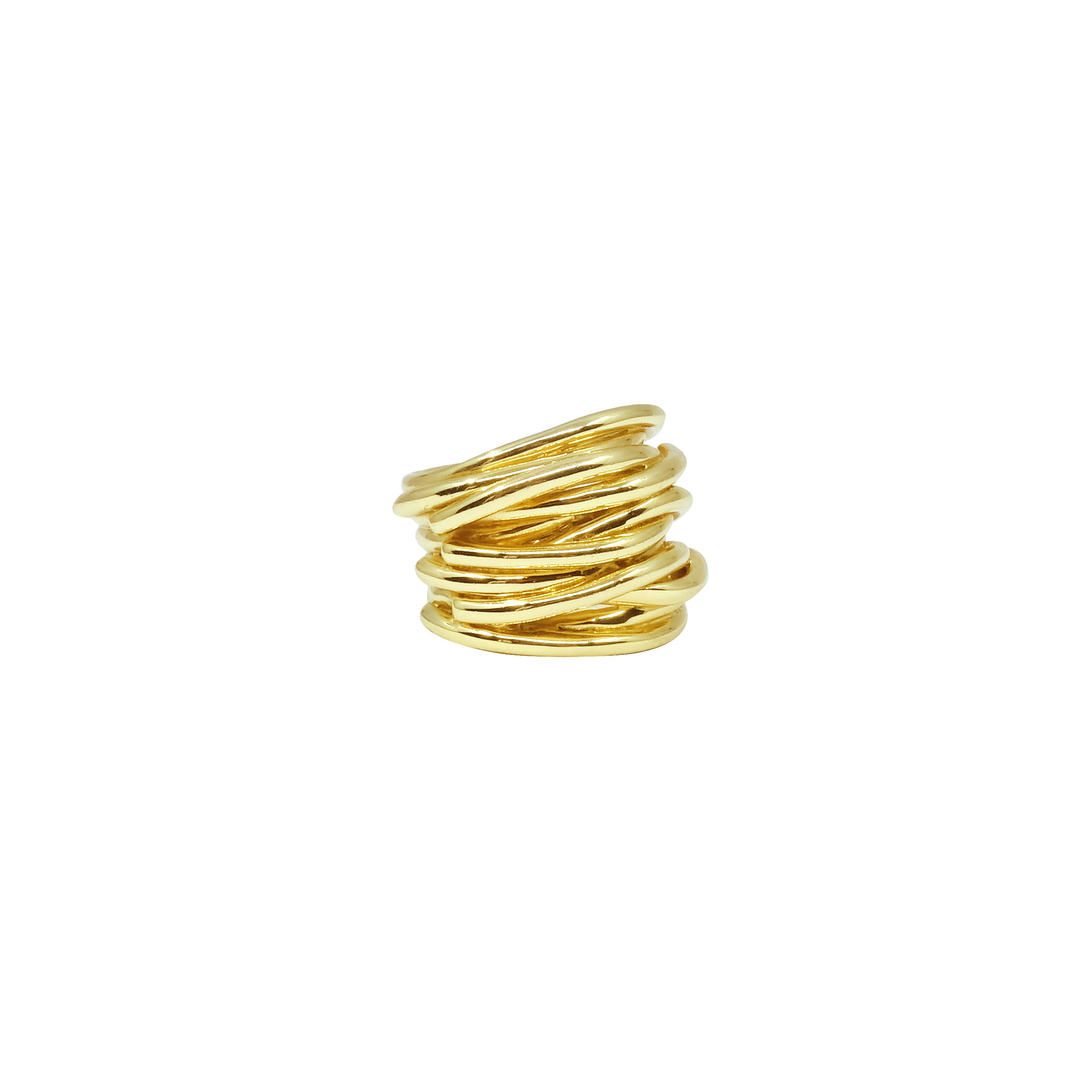 Ring gold massiv - 0