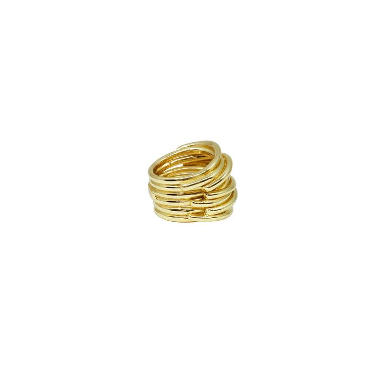Ring gold massiv - 1