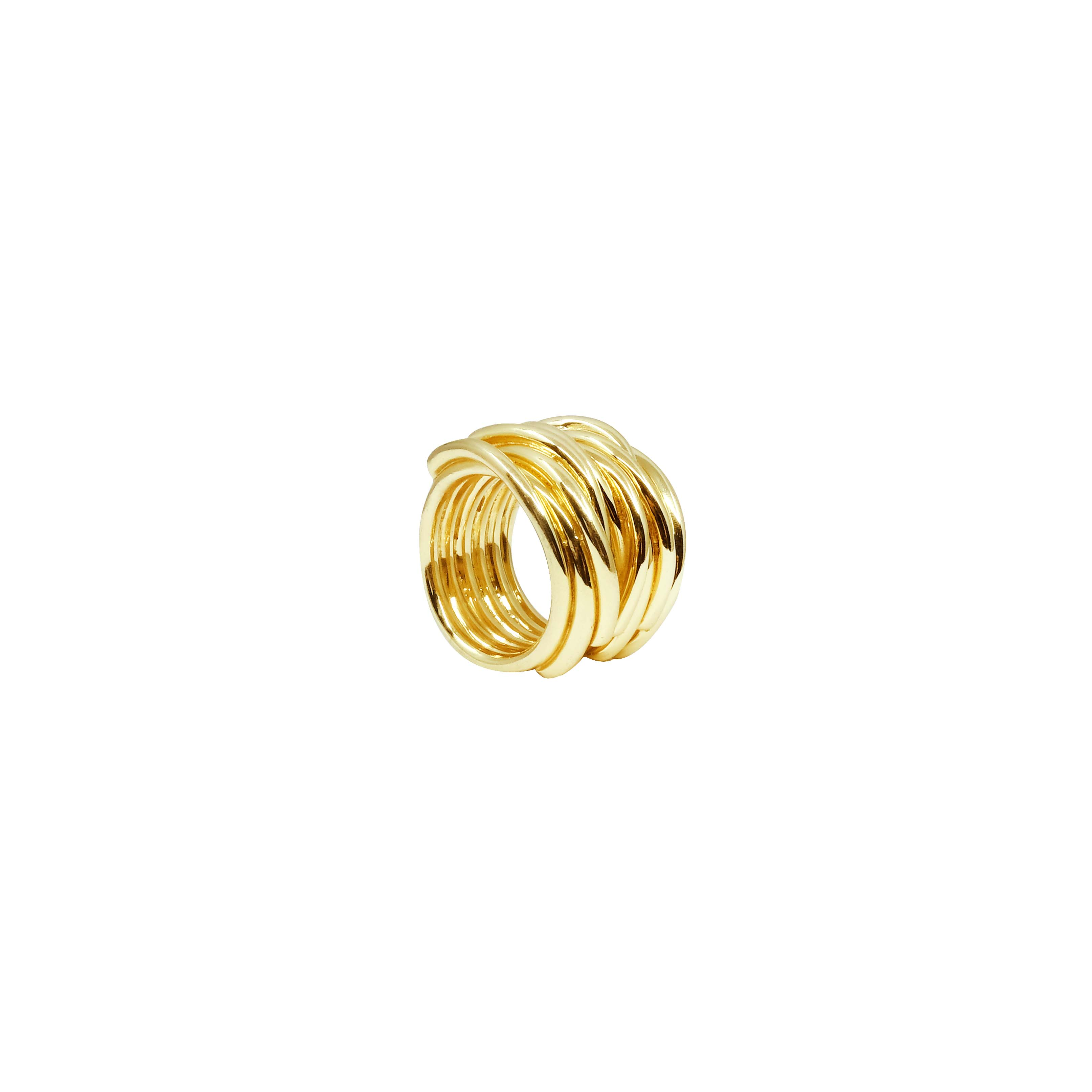 Ring gold massiv