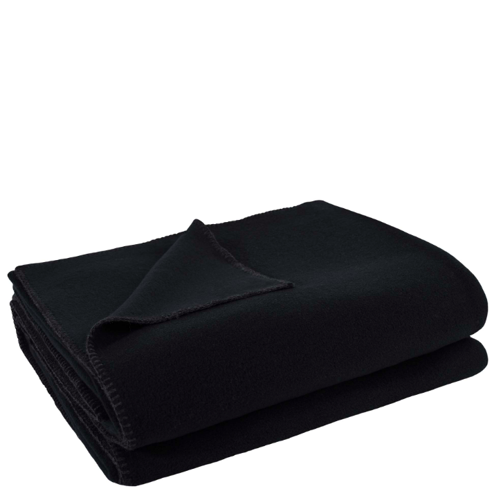Decke Soft Fleece black 160x200cm