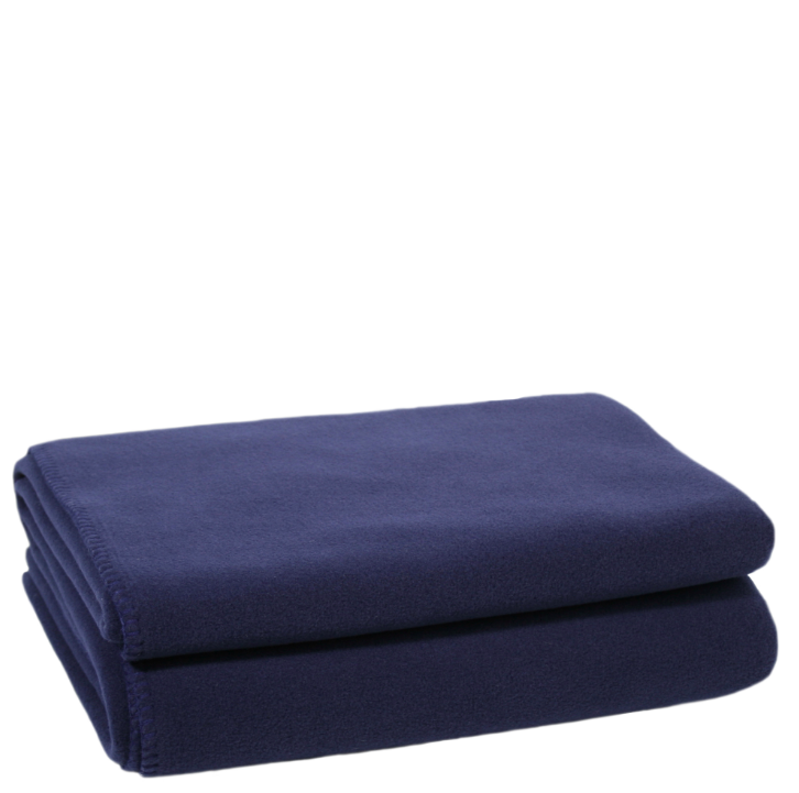 Decke Soft Fleece dark marina 160x200cm