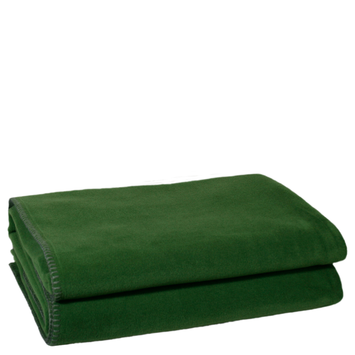 Decke Soft Fleece dark jade 160x200cm