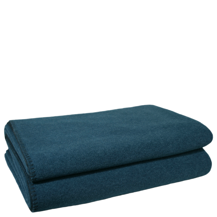 Decke Soft Fleece dark ocean 160x200cm